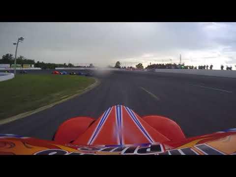Dawson Drimmie #66 Sunset Speedway August 11 2018 Ontario Legends Feature #1