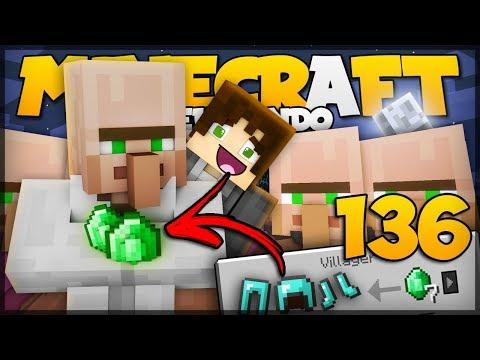 VILLAGERS COM TROCAS ESPECIAIS! // Meu Mundo #136 // Minecraft