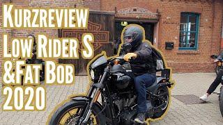 Review der Low Rider S und Fat Bob 2020 beim Open-House von Harley-Davidson Köln
