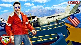 GTA 5 Online - HYDRA & YACHT STUNTS!! Getting A Boat Into the Jacuzzi (GTA 5 Funny Moments)