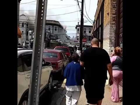 Newark fire on Mount Prospect Avenue 9.5.16