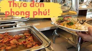 Du lịch Vịnh Hạ Long-  Vợ Việt Chồng Tây ăn trưa trên Golden Cruise ngon quá! // Cuộc Sống Canada
