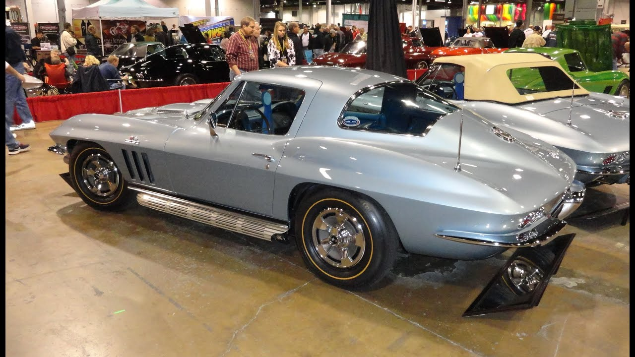 1966 Chevrolet Chevy Corvette Copo 427 With Trophy Blue Paint My Coupe Car Story Lou Costabile