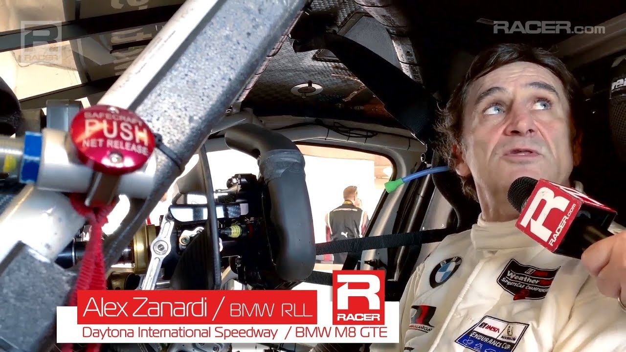 Inside Alex Zanardi's BMW M8 GTE Hand Controls
