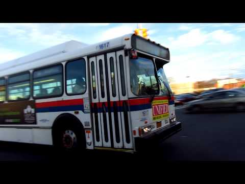 MTA Long Island Bus: Orion V CNG 1617 on the N1