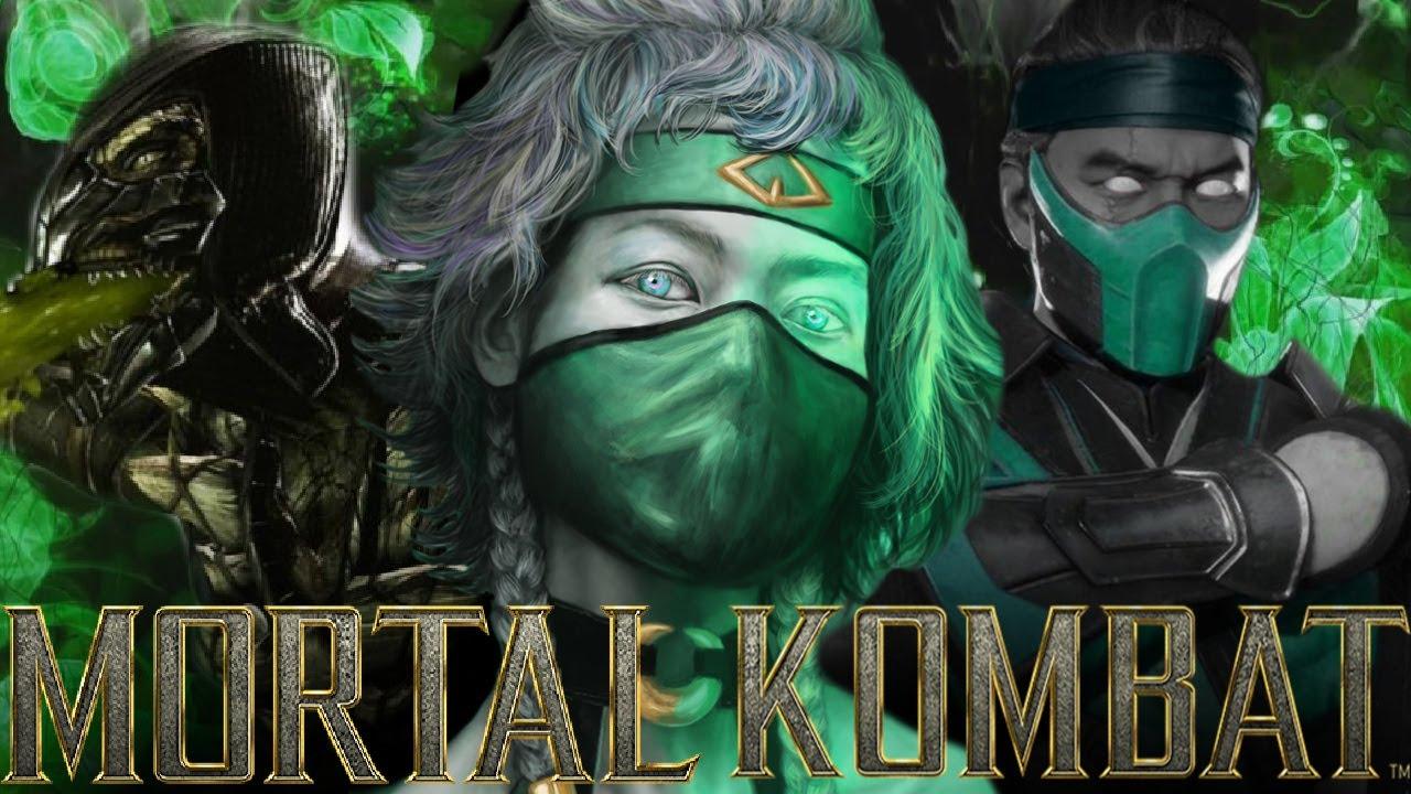 Mortal Kombat - Who The Hell Is Khameleon? The Forgotten Female Lizard Ninja