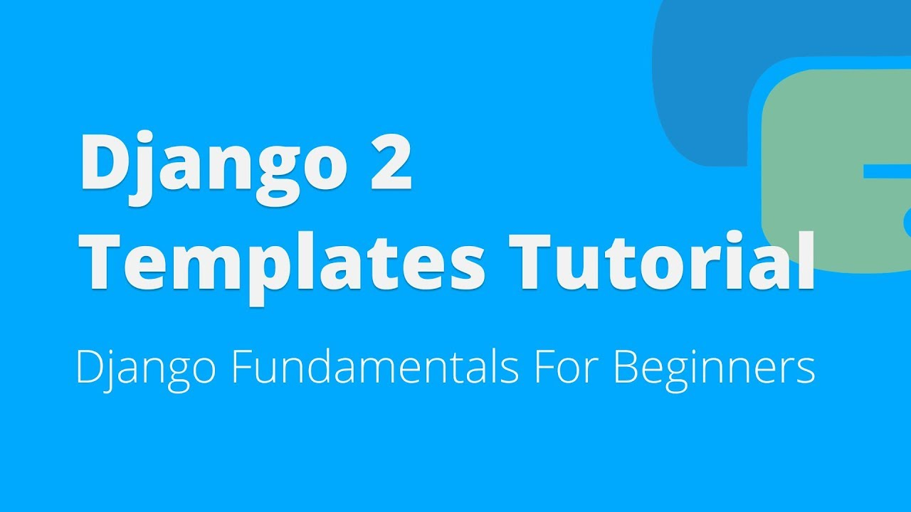 Python django tutorial for beginners getting started.
