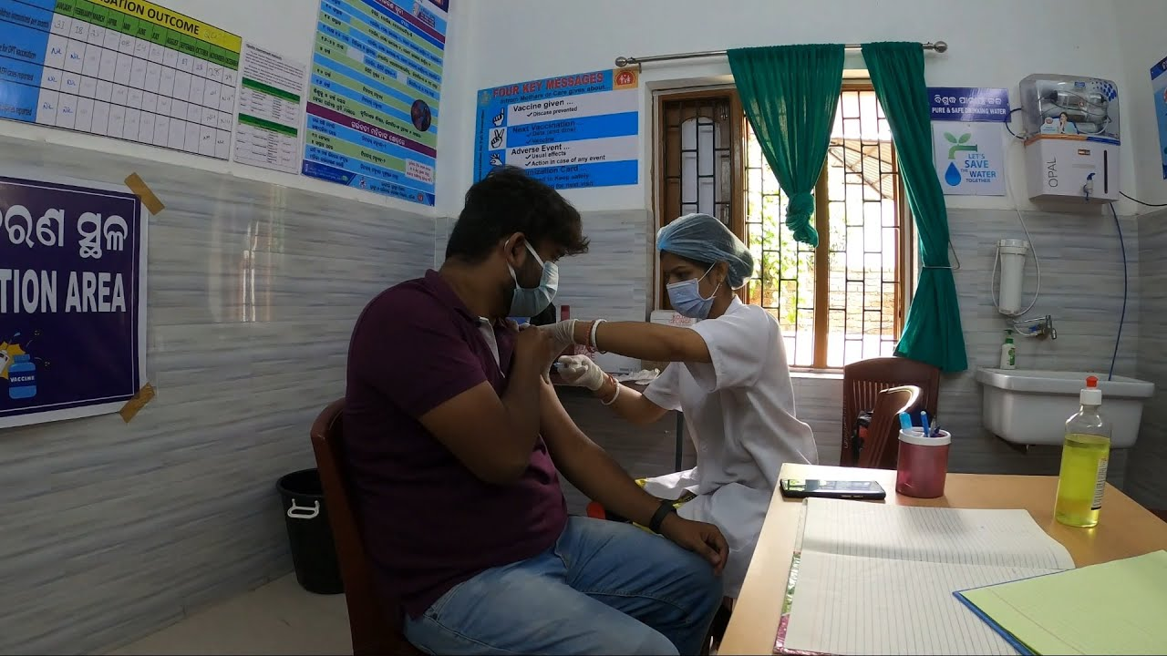 Took first dose of vaccine   Covaxin   Covid-19   Bhubaneswar