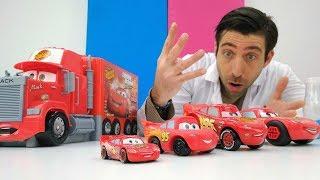 La Clinique de docteur Ouille № 18 : McQueen s'est multiplié. Vidéo de voitures streaming
