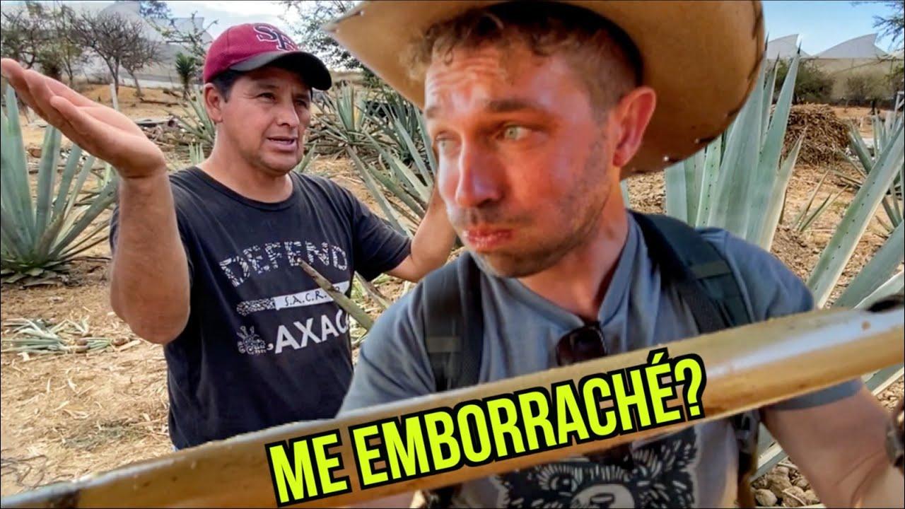 NUNCA Tomé MEZCAL ASÍ en OAXACA MÉXICO