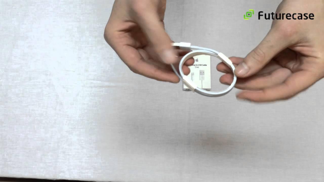 Как отличить оригинальный кабель Apple Lightning USB от копии .