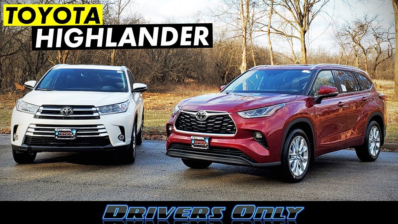 2020 toyota highlander - how does it compare to 2019