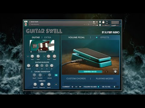 Guitar Swell - Ambient Guitar Virtual Instrument for Kontakt Player