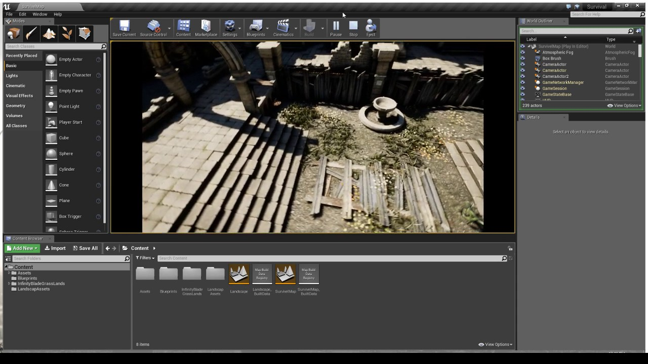 Ue4 survival game blueprint youtube ue4 survival game blueprint malvernweather Choice Image