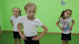 Занятие хореографией в детском саду Одуванчик