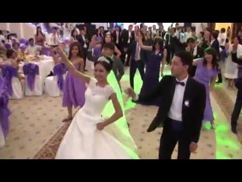 Самый лучший флешмоб на свадьбе Elmurat & Zhansaule