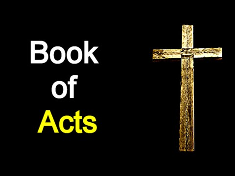 Book of Acts - Audio Bible Reading (New Testament / NASB)