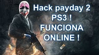 Repeat youtube video ONLINE !! PAYDAY 2 | PS3 | Hack de dinero y nivel INFINITO ! | FUNCIONA !