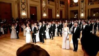 WU Ball 2008 Wien, Eröffnung (Annen-Polka)