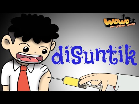Kartun Lucu - Wowo Di Imunisasi - Animasi Indonesia - Funny Cartoon