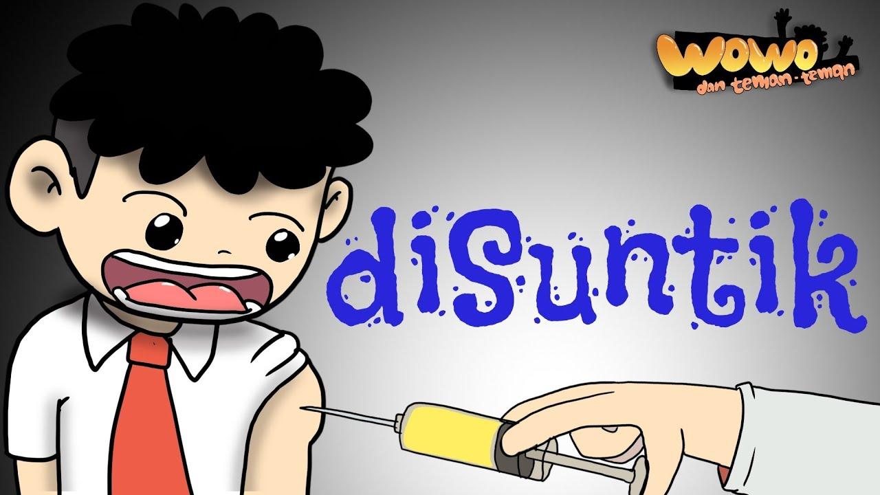 Kartun Lucu Wowo Di Imunisasi Animasi Indonesia Funny Cartoon