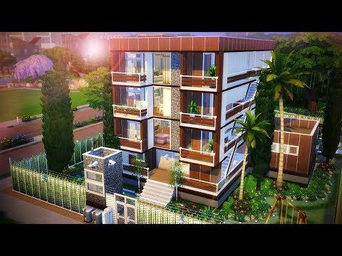 CONJUNTO DE APARTAMENTOS │The Sims 4 (Speed Build)