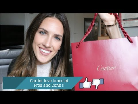 CARTIER Love Bracelet REVIEW ! WHAT are the PROS and CONS ?!