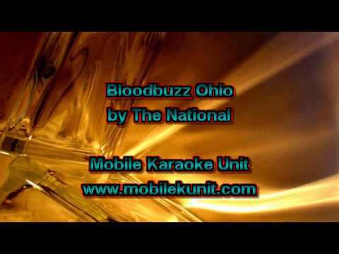 The National - Bloodbuzz Ohio [Karaoke]