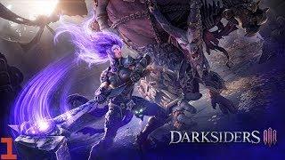 Zagrajmy w Darksiders III #1 Zazdrość PS.SORKI ZA OSWIETLENIE