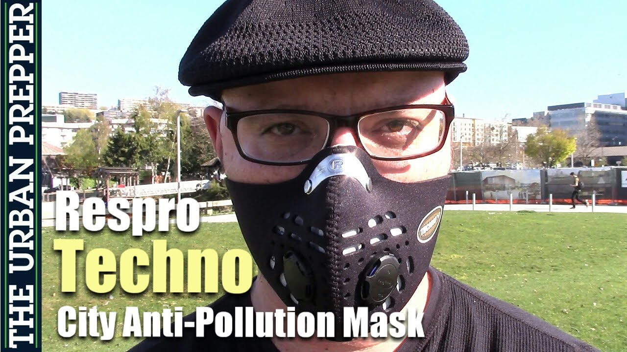 Respro Techno Anti-Pollution Mask Review (#Coronavirus)