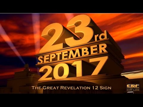 What WILL HAPPEN on September 23, 2017, the church cannot ignore this!