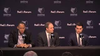 Memphis Grizzlies introduce new coach Taylor Jenkins