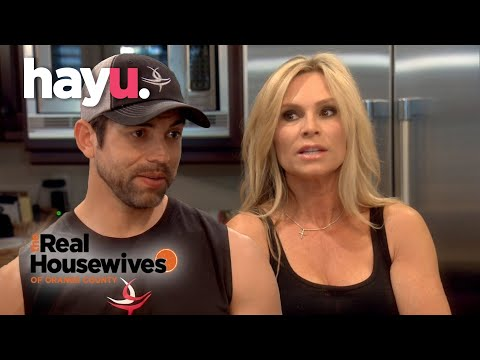 Tamra And Husband Eddie Clash Over Money Matters | The Real Housewives of Orange County