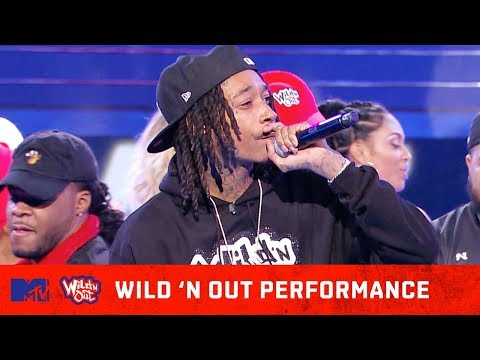 Wiz Khalifa Kills the Stage w/ 'Fr Fr' Performance 🔥 | Wild 'N Out