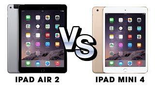 So sánh iPad Air 2 vs iPad Mini 4: 7 đến 8 triệu nên chọn máy tính bảng nào?