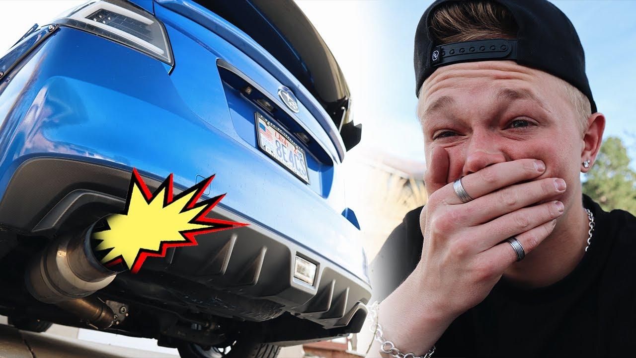How To Make Your Car Exhaust POP!!! 2016 Subaru WRX