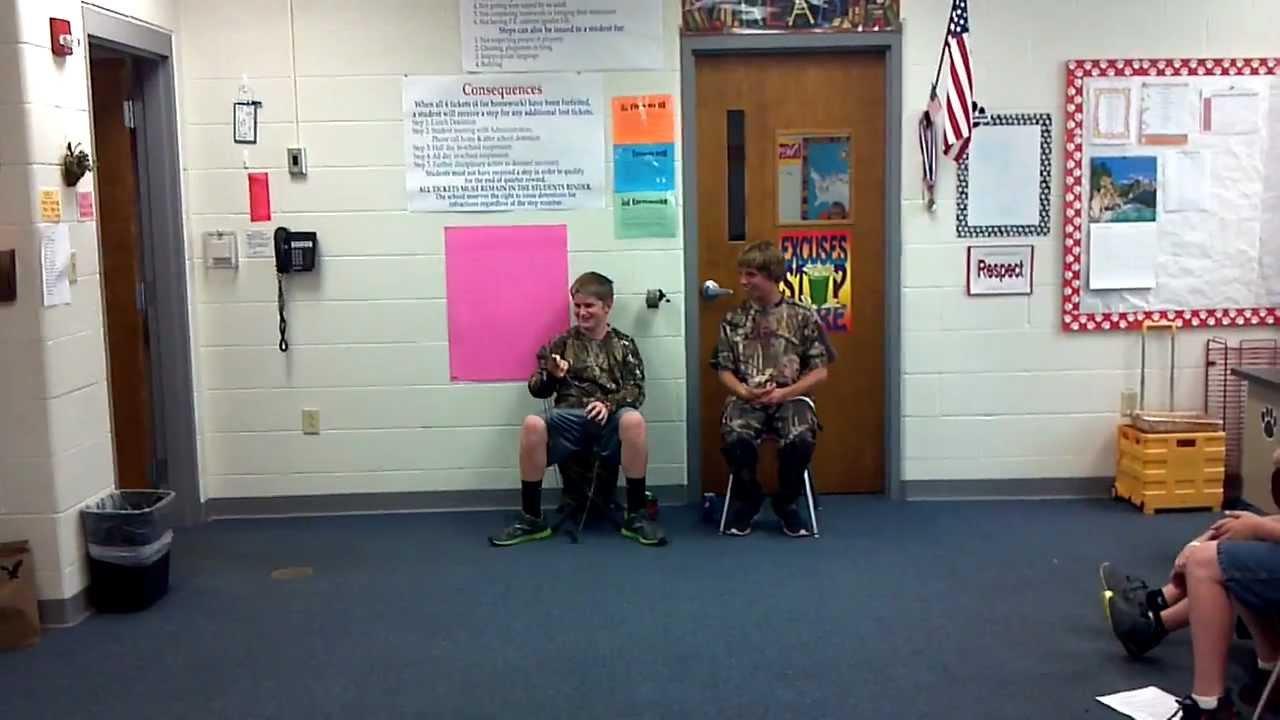 Hunting germantown grade school youtube for Ga fishing license for senior citizens