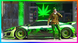 GTA ONLINE HAPPY 420 WEED CONTENT UPDATE - SECRET GTA 5 BONUSES, WEED FARM UPGRADES & MORE!