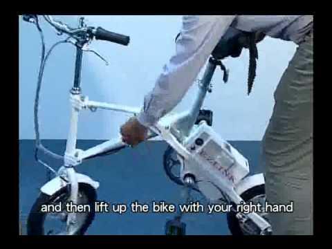 Xe đạp điện gấp EZ LINK EL-168.flv