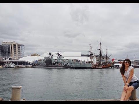 Darling Harbour Sydney. Trip to Australia