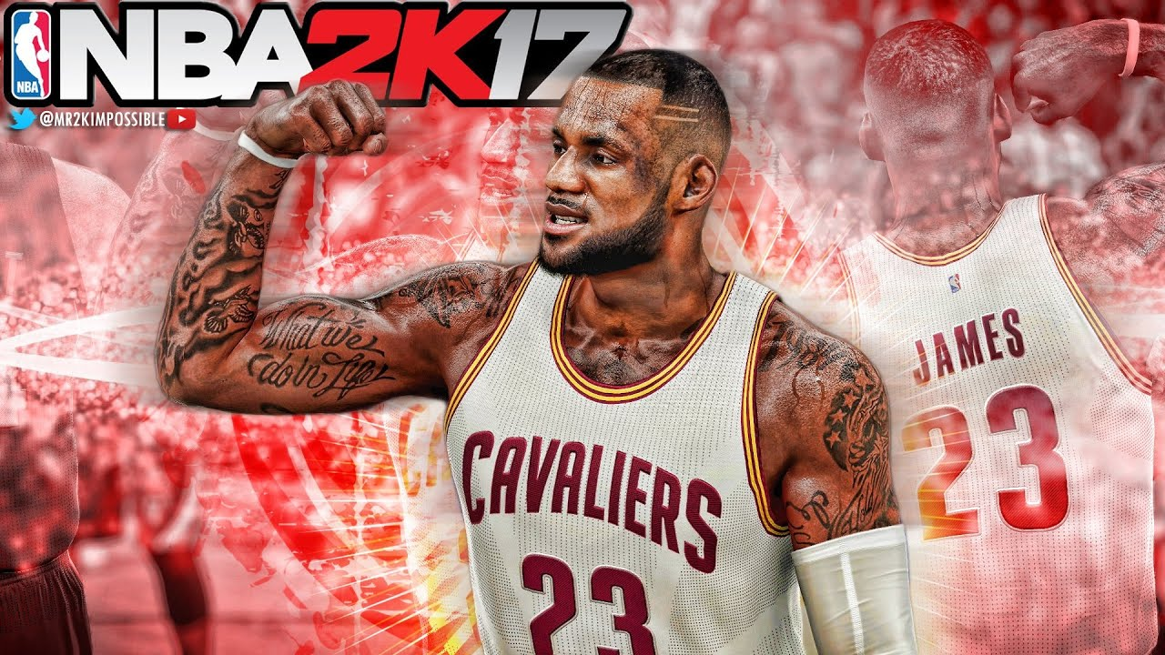 how to make lebron james face in nba 2k17