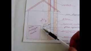 подключение твердотопливного котла к дымоходу. Схема 2