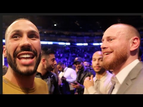 BEEF! - JAMES DeGALE & GEORGE GROVES CONFRONT EACH OTHER - FULL RINGSIDE ALTERCATION @ HAYE-BELLEW