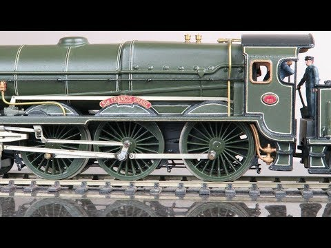 King Arthur and Lord Nelson Class locos in OO gauge. Kit built