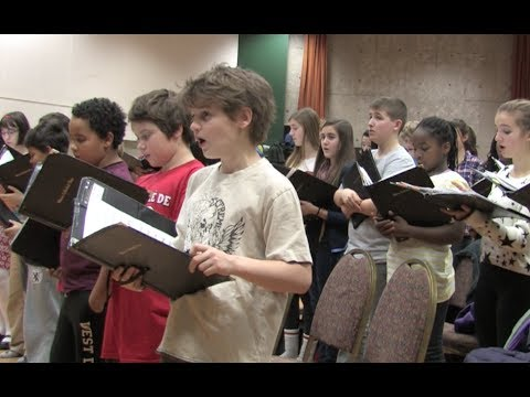 The singing of children makes Christmas magical