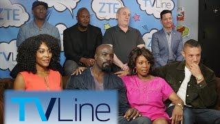 Luke Cage Interview  | TVLine Studio Presented by ZTE | Comic-Con 2016