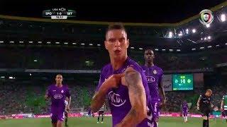 Goal   Golo Zequinha: Sporting 1-(1) V. Setúbal (Liga 18/19 #2)