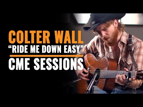 """Colter Wall covers """"Ride Me Down Easy"""" by Billy Joe Shaver 
