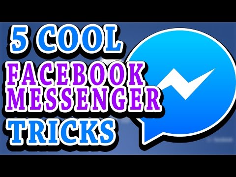Facebook Messenger Tricks you don't know about |AWESOME New Facebook Tricks You Should Know (2017)