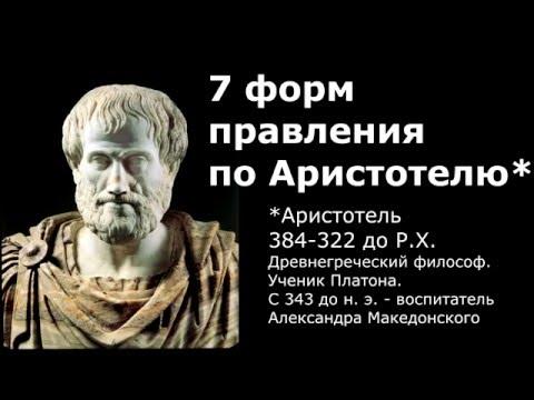 Аристотель о политике - 2350 лет назад!